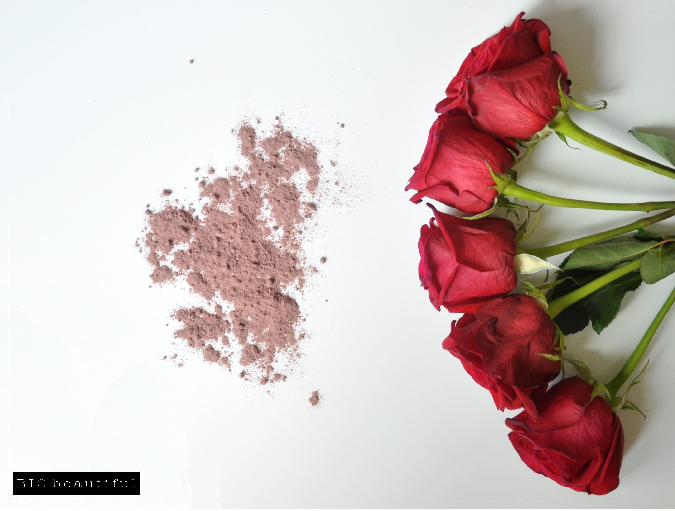 rose petals face mask polvere di rosa