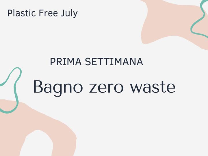 bagno zero waste